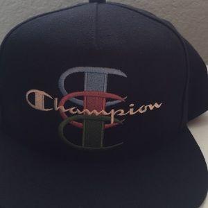 Supreme x Champion Navy Hat